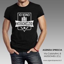 "T-Shirt ""IO SONO MUSSOMELESE"""