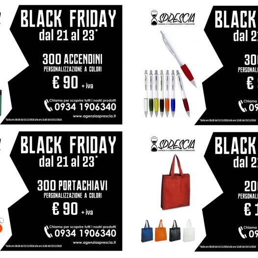 Black Friday: stampa a colori a prezzi vantaggiosi